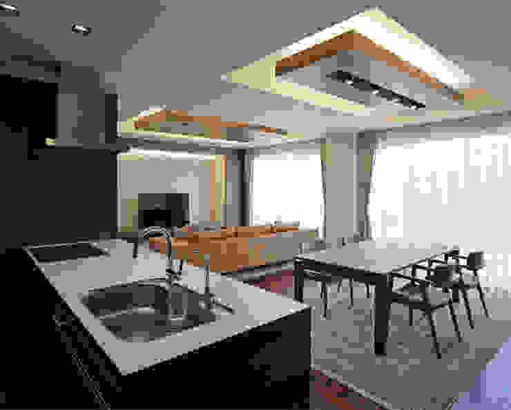 Modern style kitchen by Architect Show Co.,Ltd Modern
