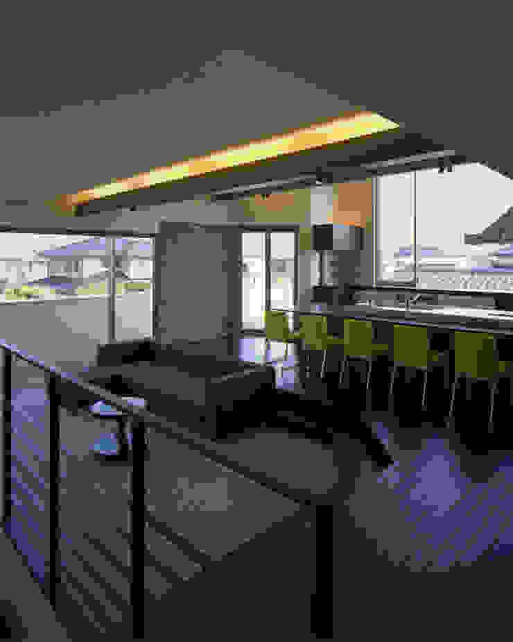 G-house 「展望の家」 モダンデザインの リビング の Architect Show Co.,Ltd モダン