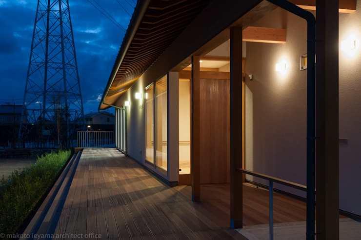 夜景 オリジナルな 家 の 家山真建築研究室 Makoto Ieyama Architect Office オリジナル