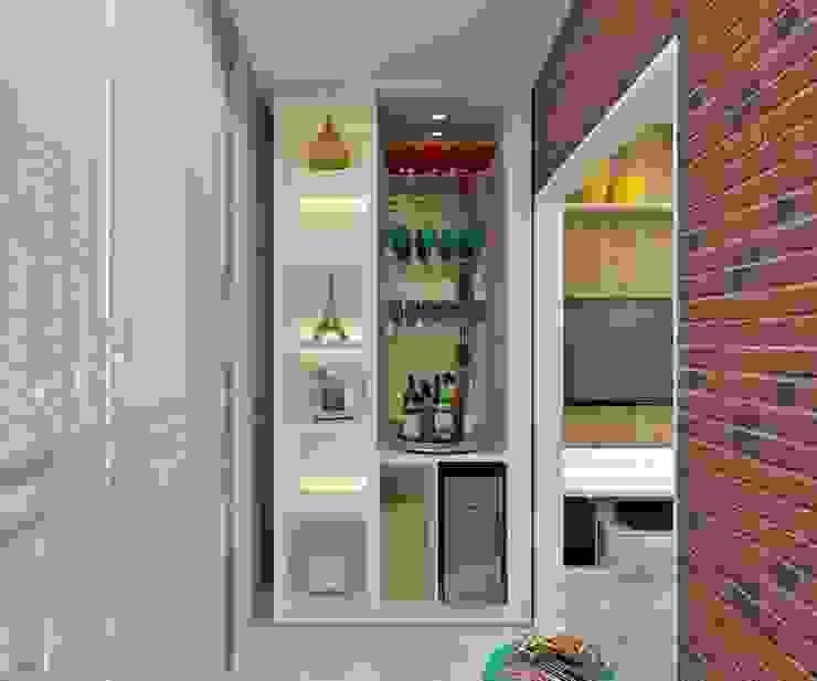 Sacada: Terraços  por Marcos Assmar Arquitetura | Paisagismo,Moderno