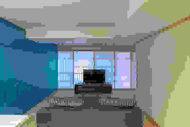 リビング の 家山真建築研究室 Makoto Ieyama Architect Office