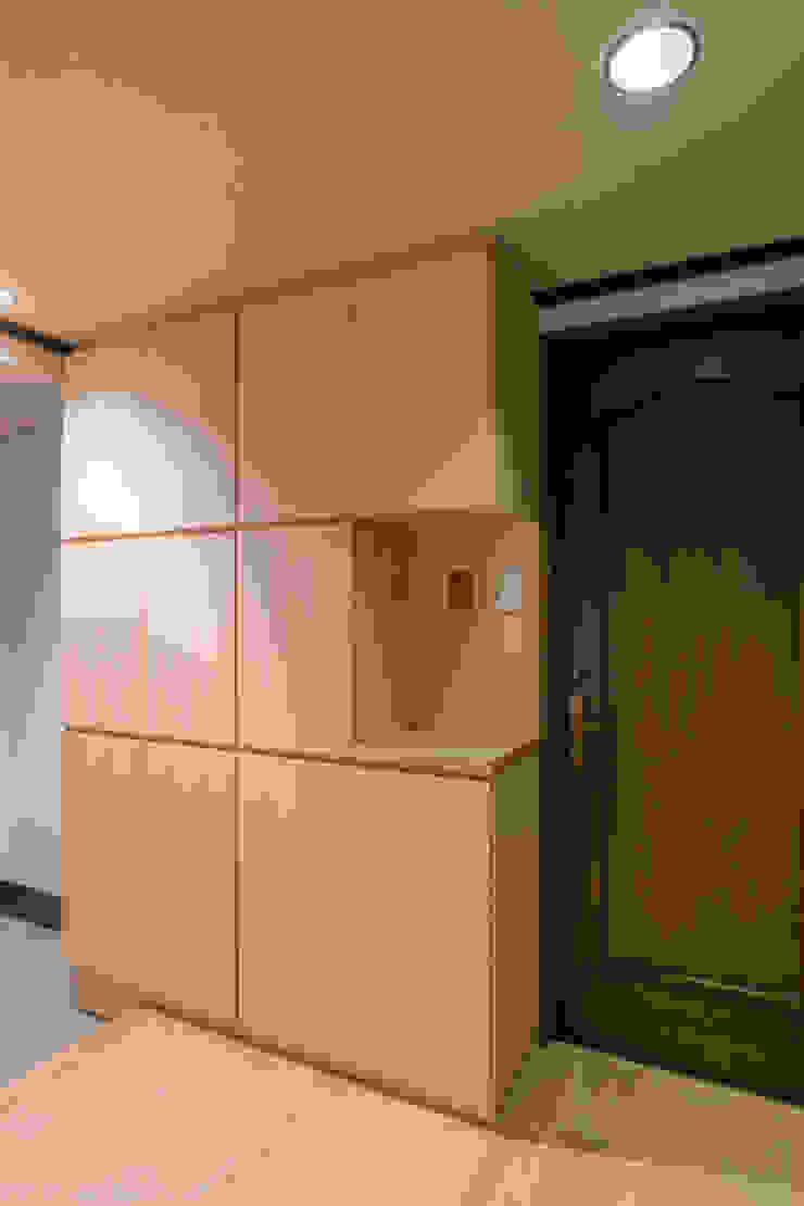 玄関 の 家山真建築研究室 Makoto Ieyama Architect Office