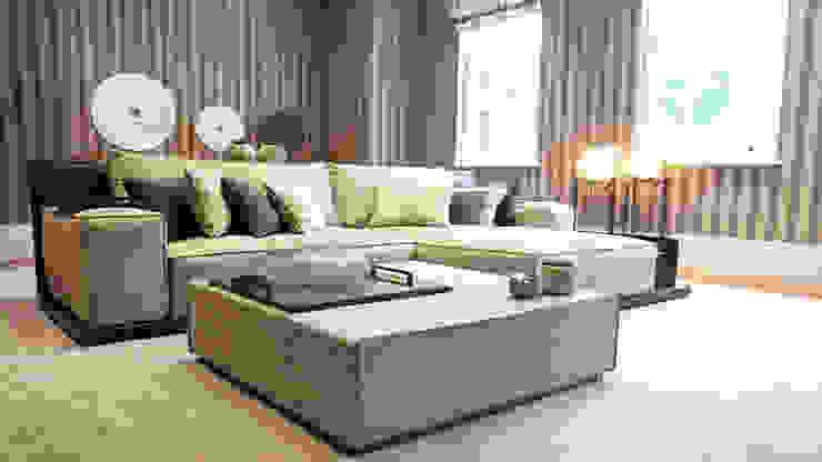 Private Villa, Surrey Keir Townsend Ltd. Living room