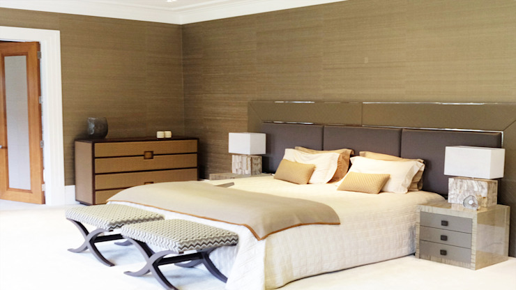 Private Villa, Surrey Modern style bedroom by Keir Townsend Ltd. Modern