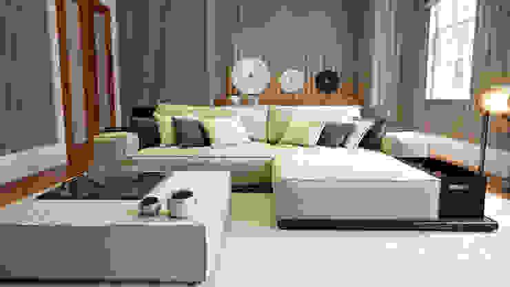 Private Villa, Surrey Modern Oturma Odası Keir Townsend Ltd. Modern
