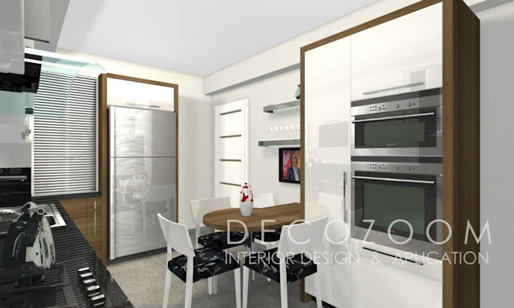 DECOZOOM INTERIOR DESIGN KitchenTables & chairs Wood Wood effect