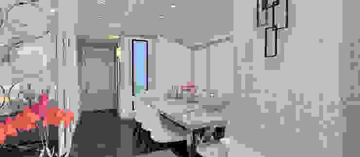F.G. EVİ Modern Yemek Odası Kerim Çarmıklı İç Mimarlık Modern