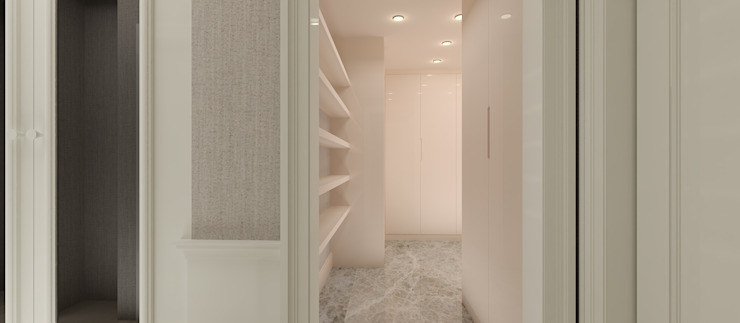 F.G. EVİ Modern Koridor, Hol & Merdivenler Kerim Çarmıklı İç Mimarlık Modern