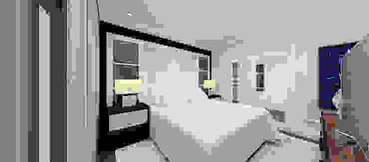 Kerim Çarmıklı İç Mimarlık – F.G. EVİ:  tarz Yatak Odası,