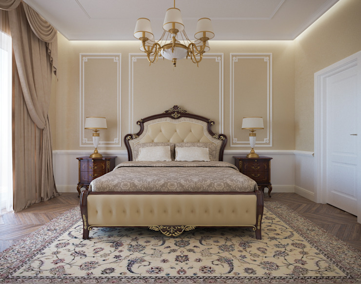 Classic style bedroom by Insight Vision GmbH Classic