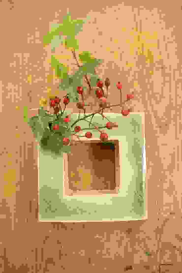 水を掛ける(角) ~ Hang up a water (square)~: 新田 学 (GAKU! CO-BO)が手掛けた折衷的なです。,オリジナル 陶器