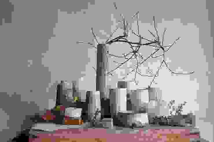 花入: kobo syuroが手掛けた現代のです。,モダン 陶器