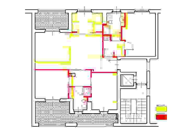 Una Stanza in più Case moderne di Architetto Alberto Colella Moderno