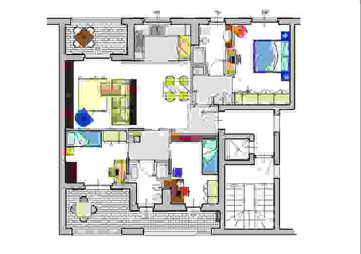 Casas modernas por Architetto Alberto Colella Moderno
