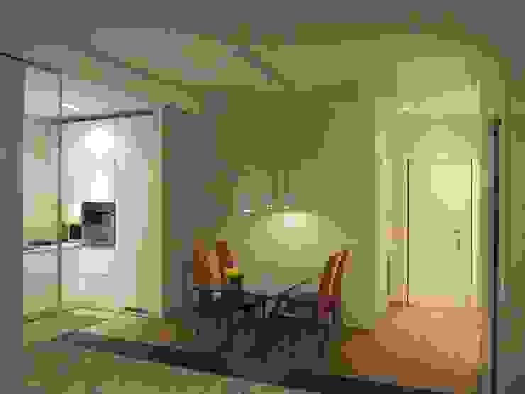 Salas de jantar modernas por Architetto Alberto Colella Moderno