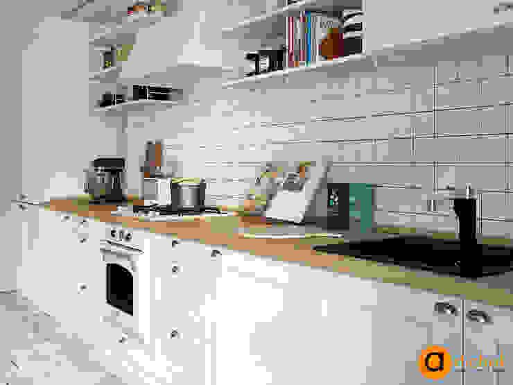 Scandinavian style kitchen by Artichok Design Scandinavian