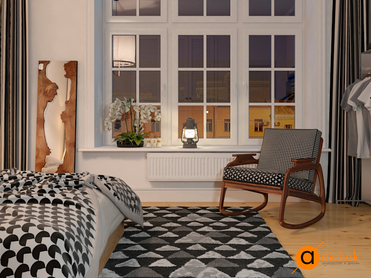 Scandinavian style bedroom by Artichok Design Scandinavian