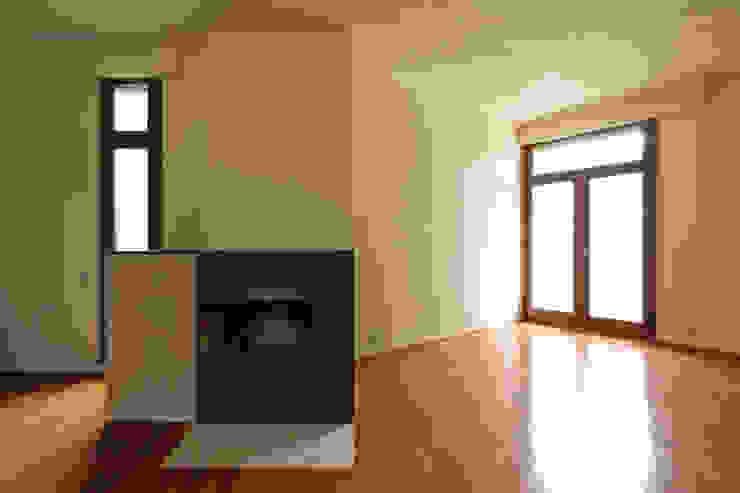 Remodelação de Apartamento na Pasteleira Salas de estar escandinavas por ABPROJECTOS Escandinavo