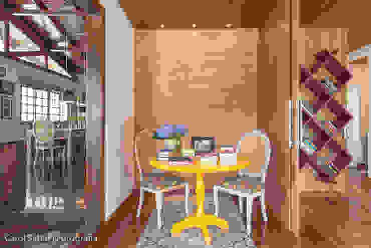 Projeto MF Interiores - Casa de Campo Salas de jantar campestres por MF Interiores Campestre