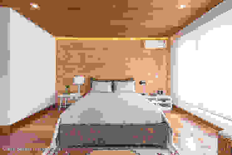 Projeto MF Interiores - Casa de Campo Quartos campestres por MF Interiores Campestre
