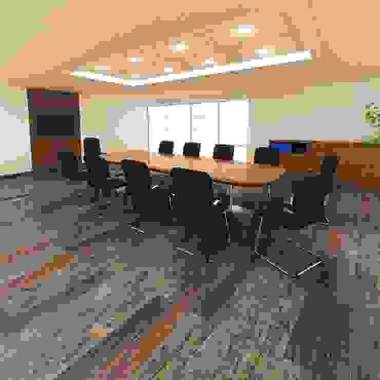 homify Rustic style walls & floors Engineered Wood Multicolored