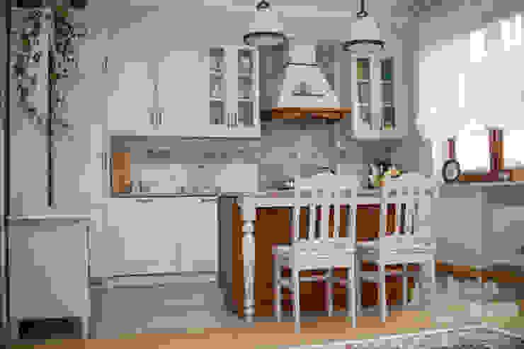HOLADOM Ewa Korolczuk Studio Architektury i Wnętrz Cucina in stile rustico