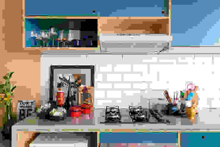 Cozinha Cozinhas industriais por INÁ Arquitetura Industrial