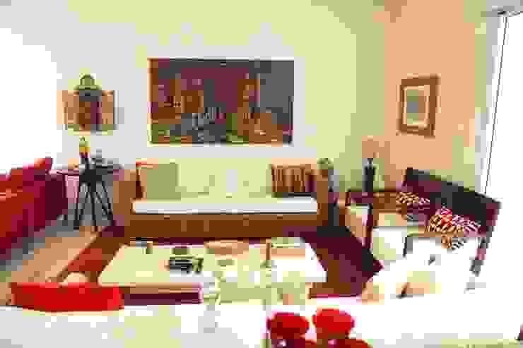 Apartamento 285m² por Fabiana Rosello Arquitetura e Interiores Rústico