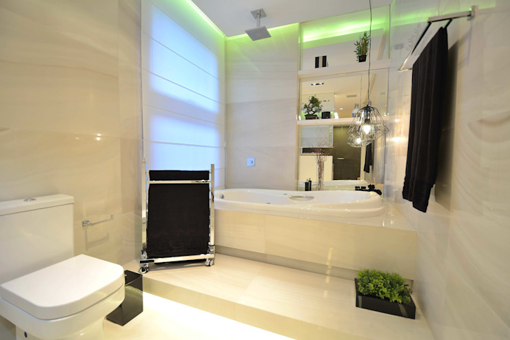 Modern style bathrooms by Marcelo Minuscoli - Projetos Personalizados Modern