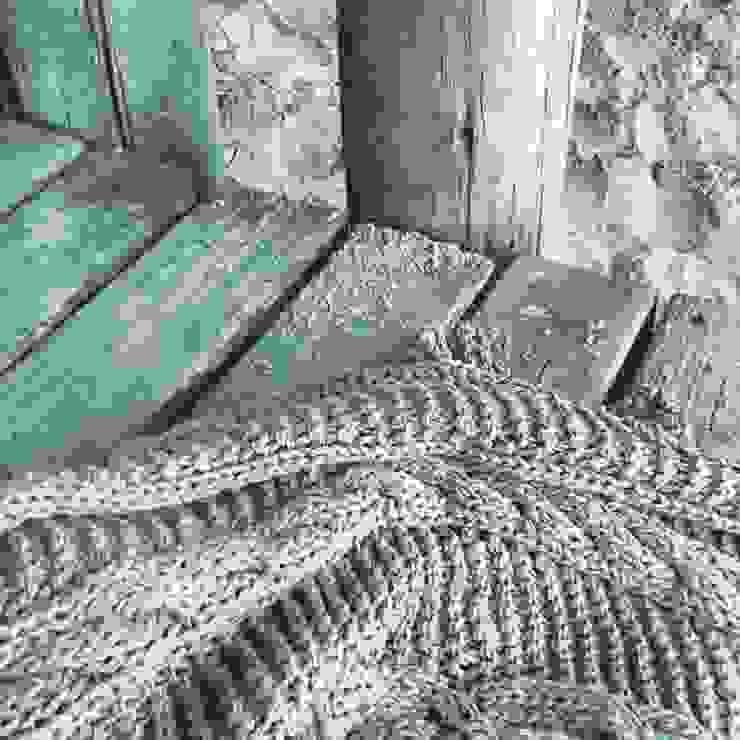 Mantas tejidas artesanalmente de Carolina biercamp