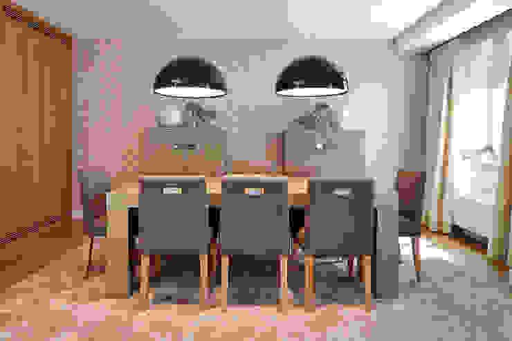 VIVIENDA ZONA TURÓ PARK BARCELONA Comedores de estilo mediterráneo de Molins Design Mediterráneo
