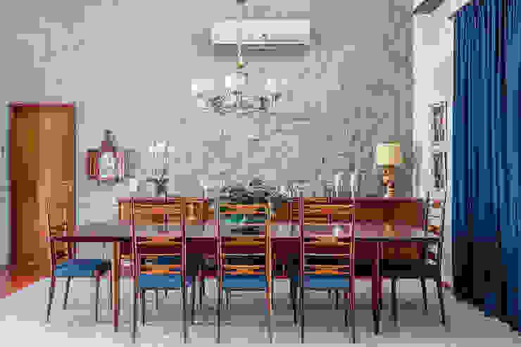 Residência Londrina 3 Salas de jantar modernas por Antônio Ferreira Junior e Mário Celso Bernardes Moderno