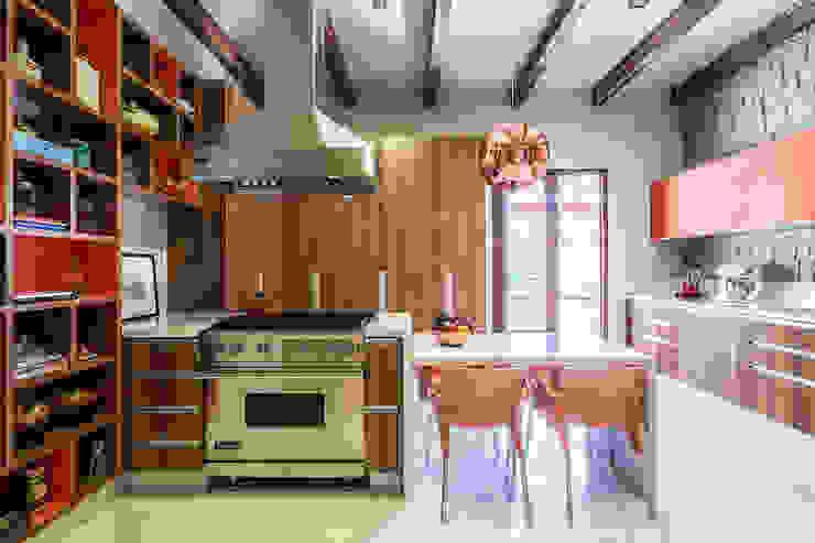 Residência Londrina 3 Cozinhas modernas por Antônio Ferreira Junior e Mário Celso Bernardes Moderno