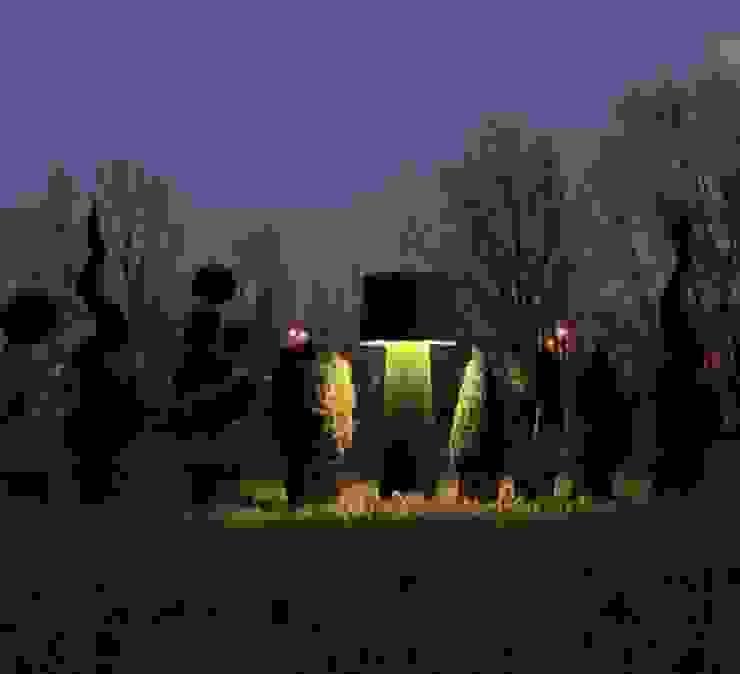 LAMPADAIRE D'EXTÉRIEUR, ERBAVOGLIO, VERT, H160CM - KARMAN par NEDGIS Éclectique Fer / Acier