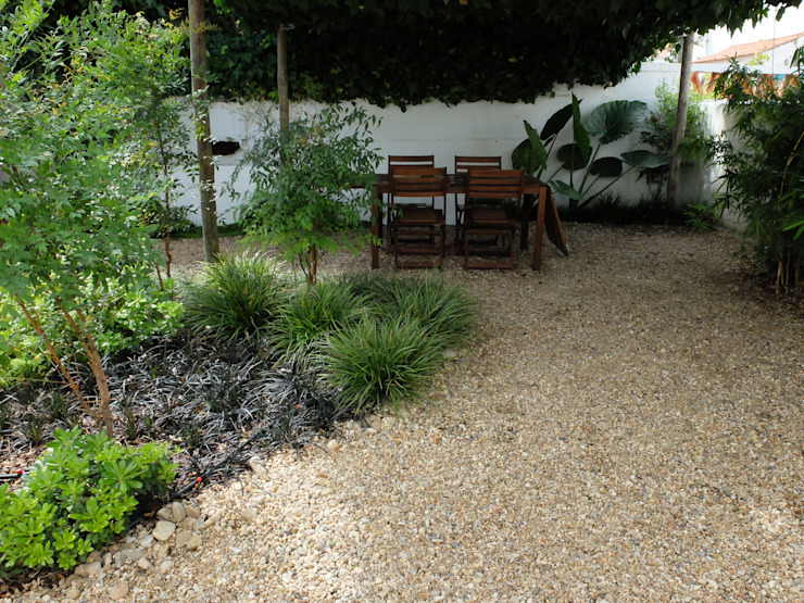 Vista geral Jardins ecléticos por Atelier Jardins do Sul Eclético