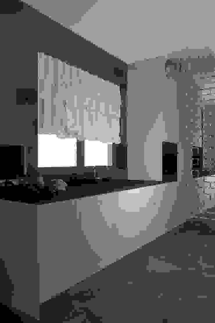 Nowoczesna, elegancka kuchnia w Niemczu Nowoczesna kuchnia od Mobiliani Design Nowoczesny