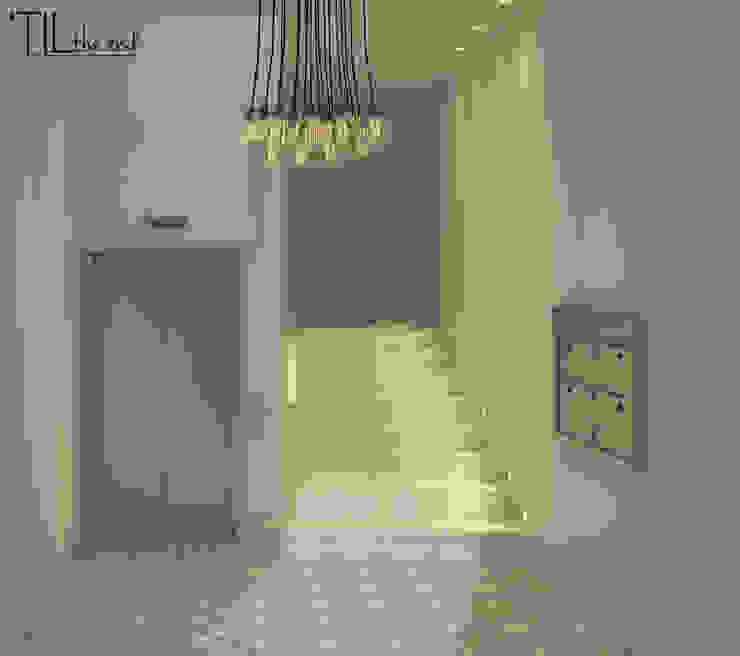 Residential Building in Lisbon Corredores, halls e escadas modernos por Lagom studio Moderno Azulejo