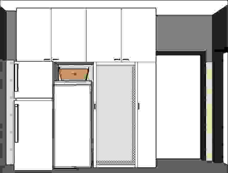 PLATZ Classic style corridor, hallway and stairs Wood White