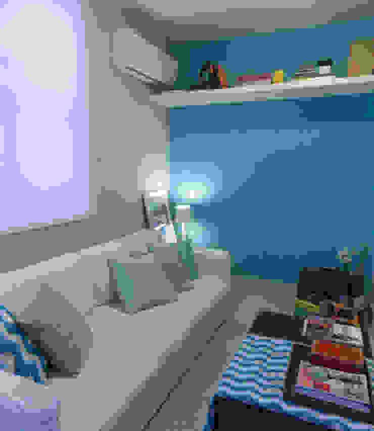 Apartamento Leblon II Salas multimídia modernas por Duplex Interiores Moderno