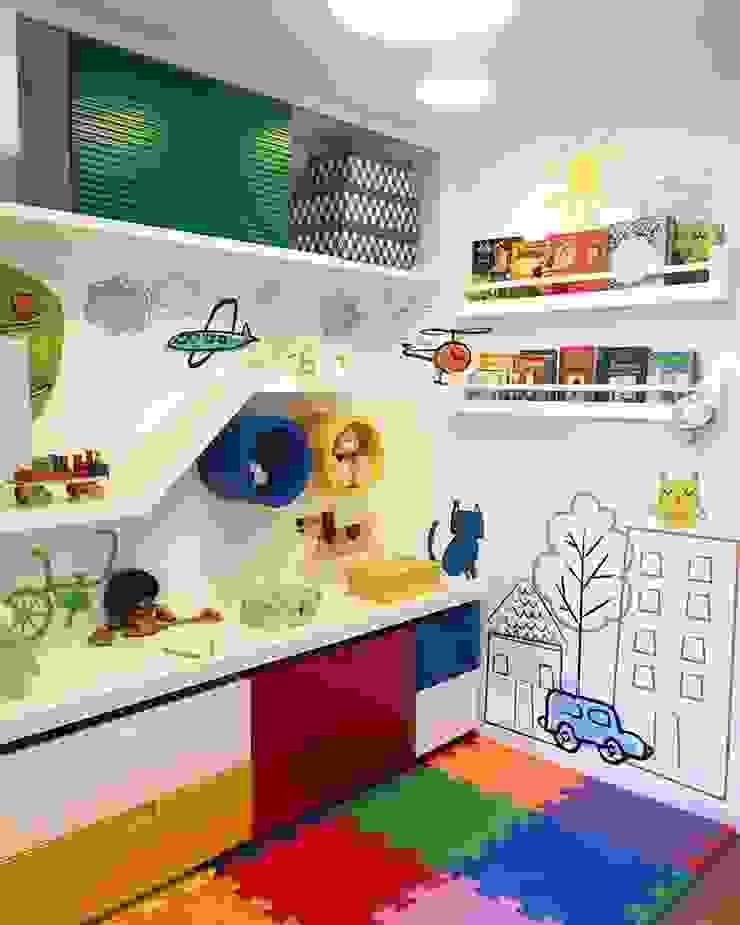 Apartamento Cidade Jardim II Quarto infantil moderno por Duplex Interiores Moderno