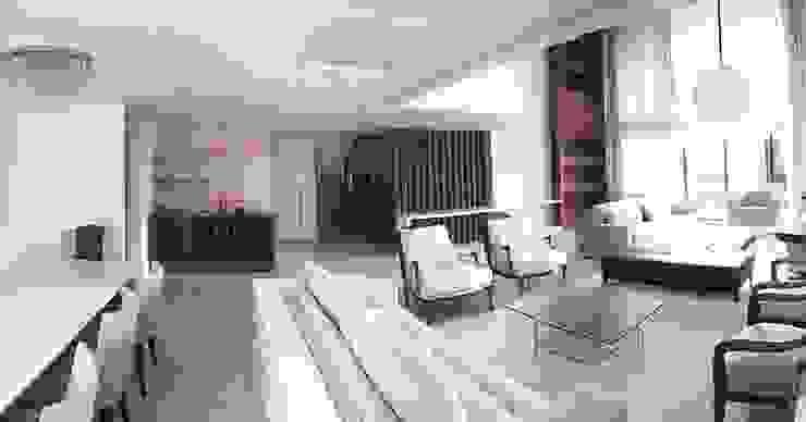 Duplex Interiores Salon classique