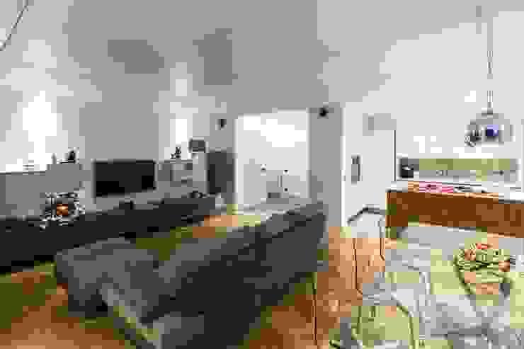 HOUSE G&S Soggiorno moderno di GINO SPERA ARCHITETTO Moderno