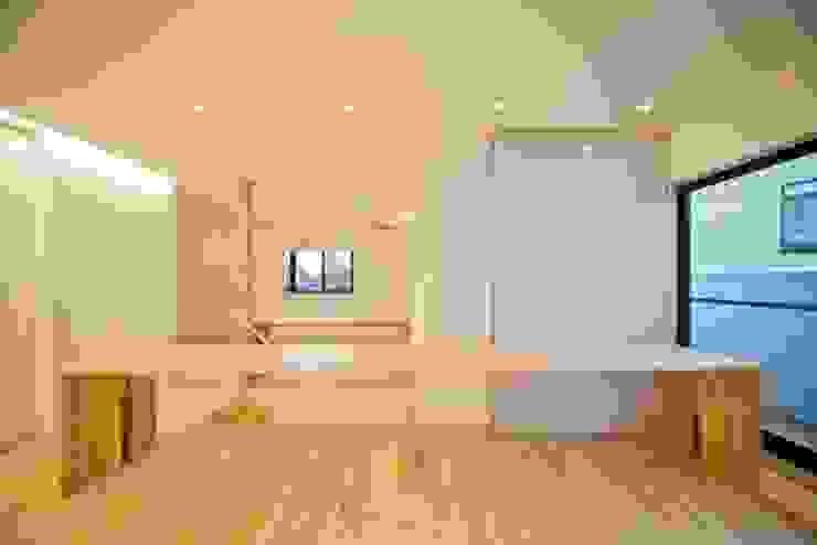 星設計室 Modern Media Room Wood Wood effect