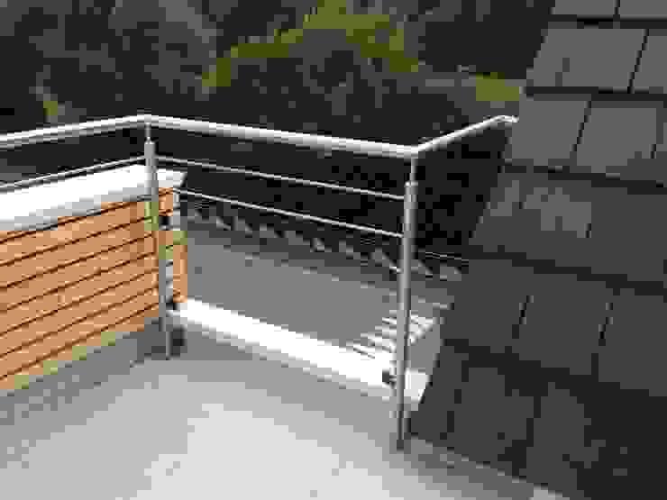 Nowoczesny balkon, taras i weranda od A.FUKE-PRIGENT ARCHITECTE Nowoczesny