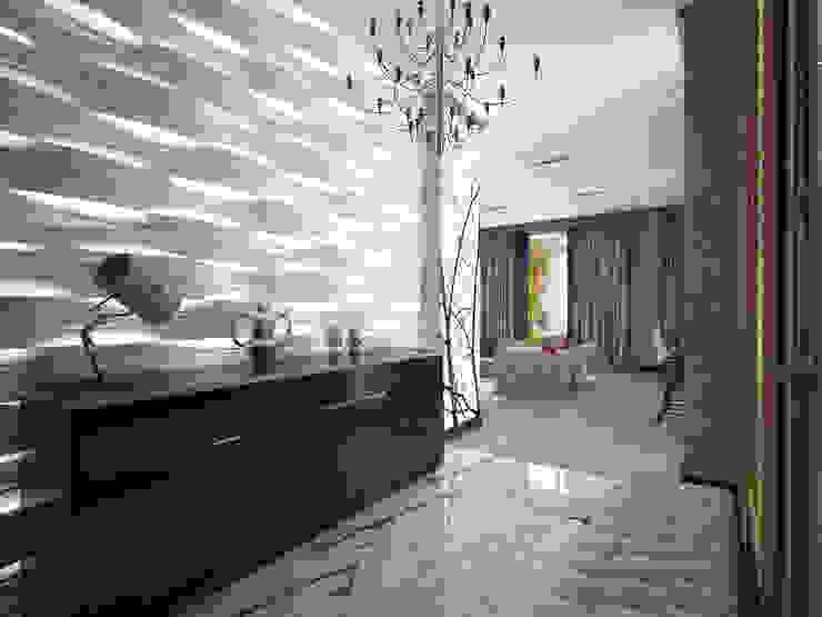 Couloir et hall d'entrée de style  par Decor&Design, Éclectique