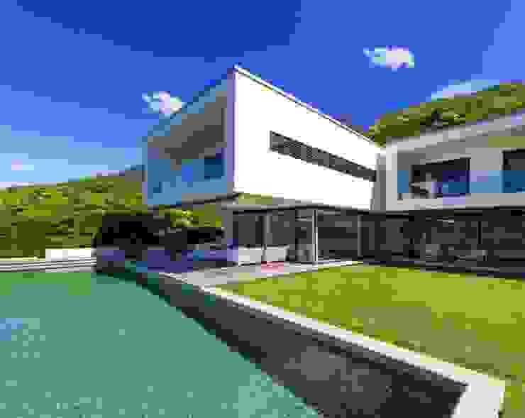 Maison Ultra Contemporaine Concept Creation Piscine moderne