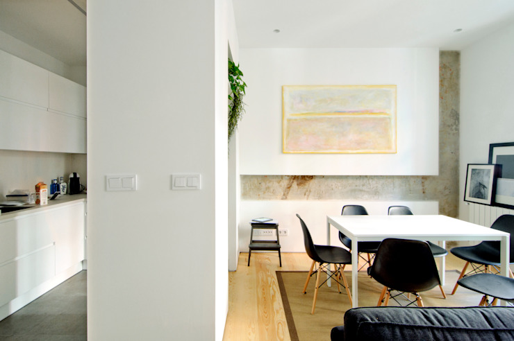 Reforma vivienda Comedores de estilo moderno de Garmendia Cordero arquitectos Moderno