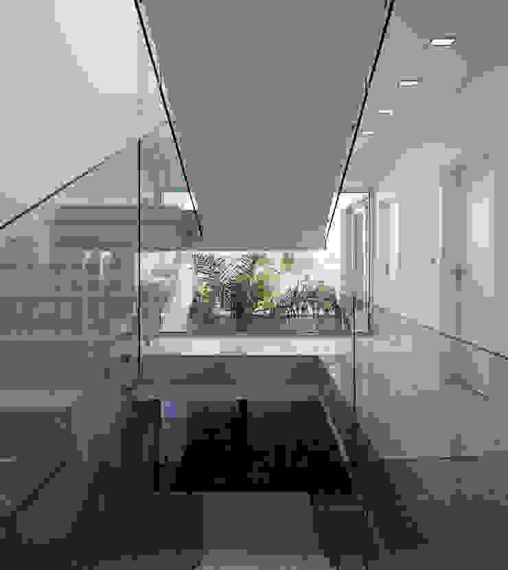 Moderner Flur, Diele & Treppenhaus von MOM - Atelier de Arquitectura e Design, Lda Modern