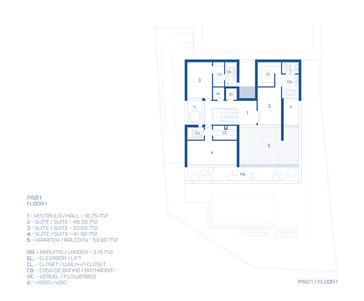 من MOM - Atelier de Arquitectura e Design, Lda حداثي