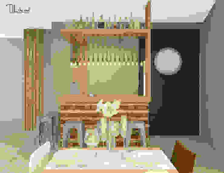 Restaurant bar Hotéis escandinavos por Lagom studio Escandinavo Madeira Acabamento em madeira